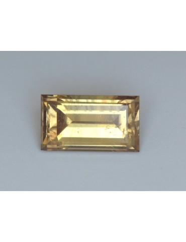 Golden sapphire 2.55 cts.