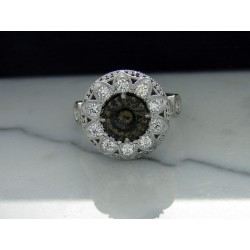 CC garnet ring