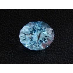 Aquamarine oval 2.74 Cts.