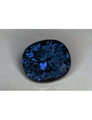 Blue CC spinel 6.12 cts.