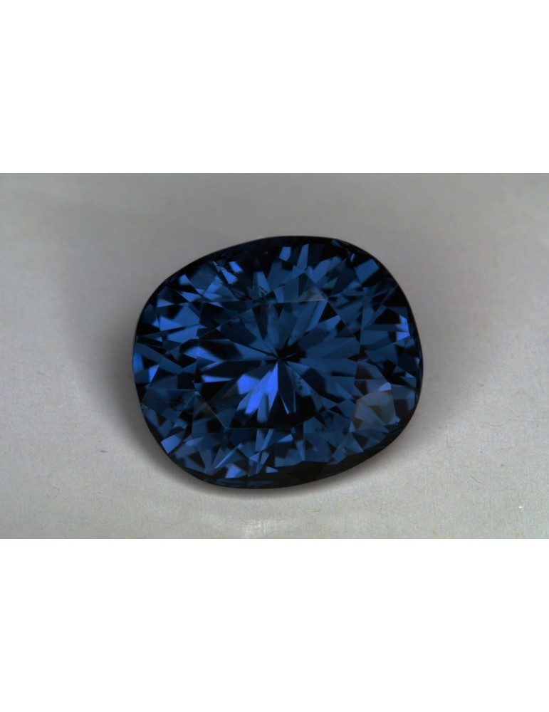 Blue CC spinel 6.09 cts.