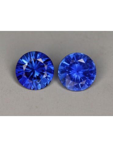 Blue sapphires .79 TCW