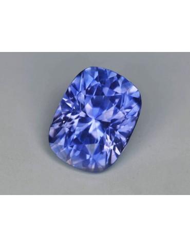 Violet blue sapphire 3.00 cts.