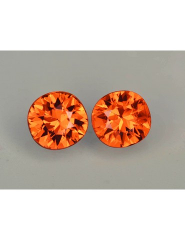 Spessertite pair 1.72 cts.