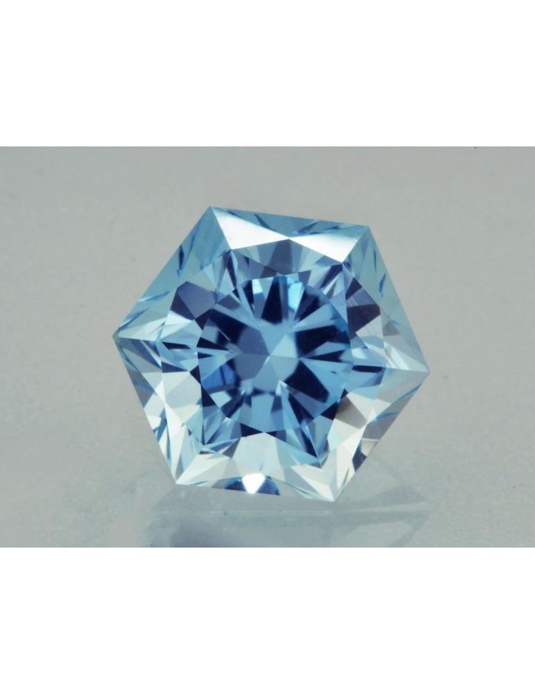 Blue tourmaline 1.29 cts.